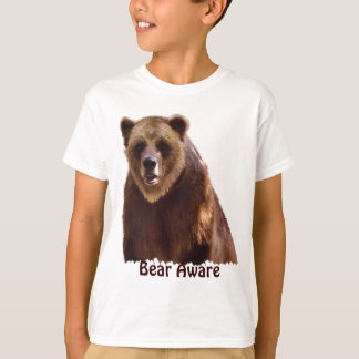 Big Grizzly Bear Wildlife Art Gift T-Shirt