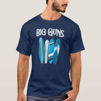 BIG GUNS SURFING T-SHIRT