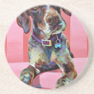 Big Hank the Short Haired Pointer Coaster