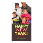 Big Happy New Year Photo Card Greeting