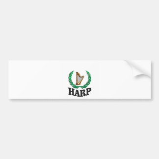 big harp branch bumper sticker