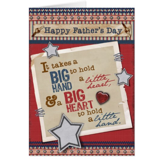 Big Heart Father's Day Card