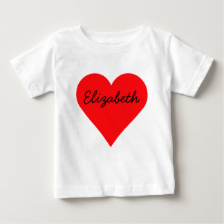 Big Heart Valentine's Day Baby T-Shirt