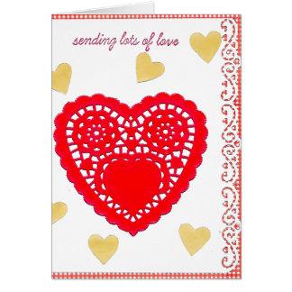 Big Heart Valentine's Day Card