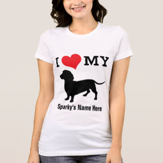 Big Hearted Dachshund Love Tee | Personalize It!