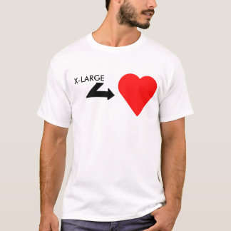 Big hearted guy T-Shirt