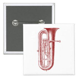Big Horn 15 Cm Square Badge