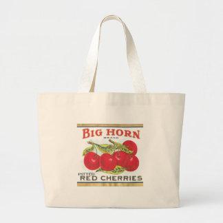 BIG HORN CHERRIES JUMBO TOTE BAG