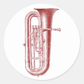 Big Horn Classic Round Sticker