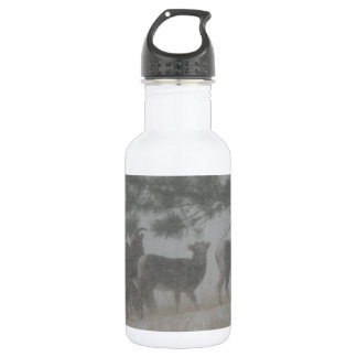 Big Horn Kid in the Snowstorm 532 Ml Water Bottle