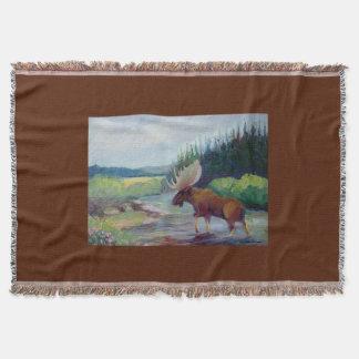 Big Horn Mountain Moose by Sue Ann Jackson