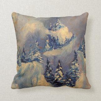 Big Horn Peak 2009 Throw Pillow