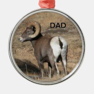 Big Horn Ram Dad Ornament