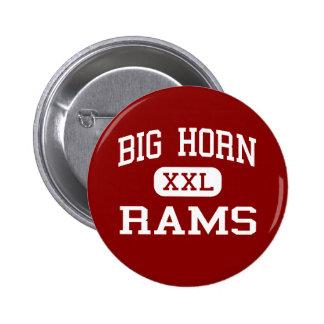 Big Horn - Rams - Middle - Sheridan Wyoming Pin