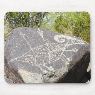 Big horn sheep petroglyph mousepad