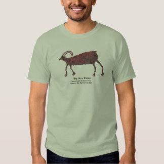 Big Horn Sheep Petroglyph T-shirt