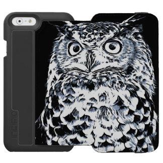 Big Horned Owl Art Incipio Watson™ iPhone 6 Wallet Case