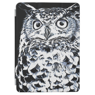 Big Horned Owl Art iPad Air Cover
