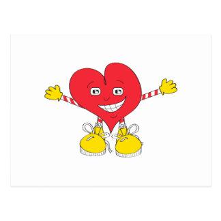 Big Hug Heart Postcard