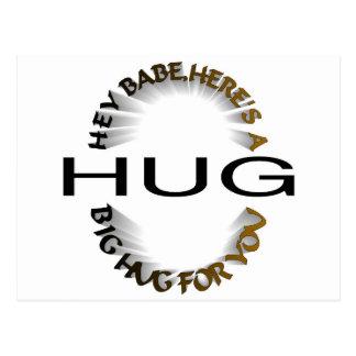BIG HUG POSTCARD