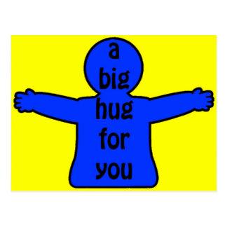 Big Hugs Postcard