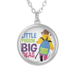 Big Ideas Round Pendant Necklace