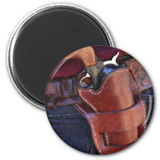 Big Iron 6 Cm Round Magnet