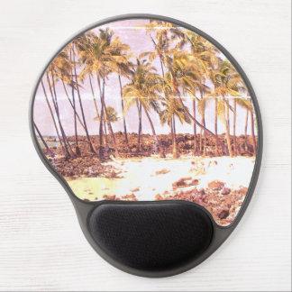 Big Island Beach Gel Mouse Pad