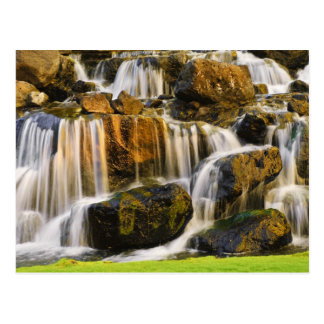 Big Island, Hawaii. Cascading stream, Big Island Postcard