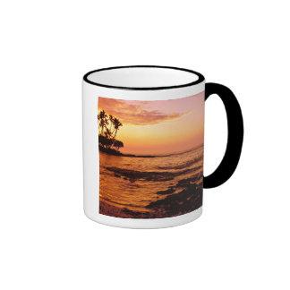 Big Island, Hawaii. Sunset, Big Island Hawaii. 2 Ringer Mug