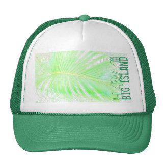 Big Island palm hawaii hat