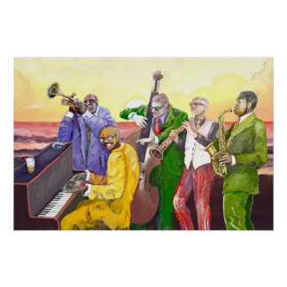 **Big JAzz Band** Poster