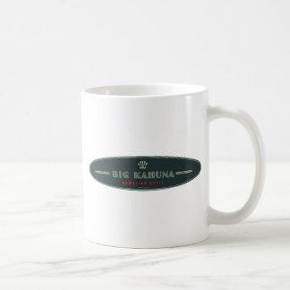 Big Kahuna Straight HI Style Board Outline Coffee Mug