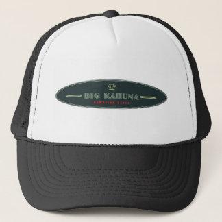 Big Kahuna Straight HI Style Board Outline Trucker Hat