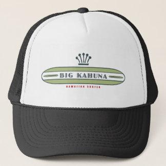Big Kahuna Straight HI Surfer Trucker Hat