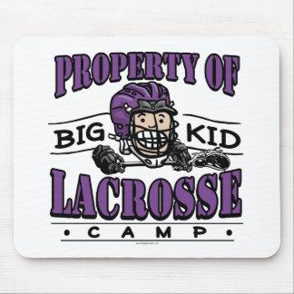 Big Kid Lacrosse Camp Purple Mousepad