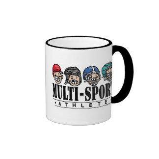 Big Kid Multi-Sport Athlete Ringer Mug