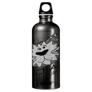 Big Kitty Face Crazy Cat Lady SIGG Traveller 0.6L Water Bottle