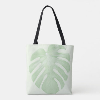 Big Leaf Tropical Tote