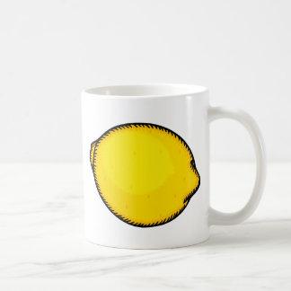 Big Lemon Basic White Mug