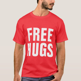Big letters t shirt for men | Free Hugs
