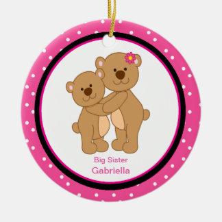 Big/ Little Sister Bear Ornament