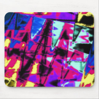 Big Loud Abstract Mouse Pad