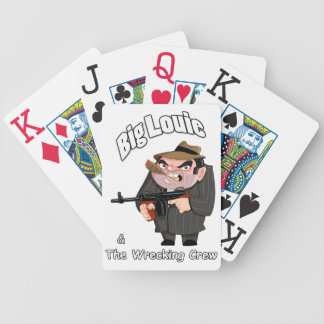 Big Louie & The Wrecking Crew Playing Cards