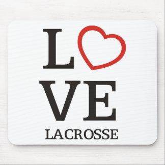 Big LOVE Lacrosse Mousepads