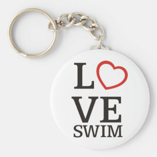 Big LOVE Swim Key Ring
