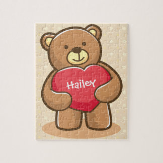Big Love Teddy Bear 8x10 Jigsaw Puzzle