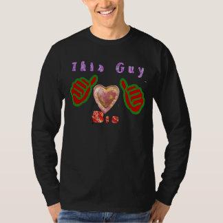 Big Love. This guy loves big. T-Shirt