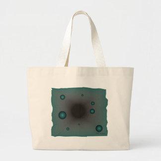 Big Machine wormhole science fiction black hole Canvas Bags
