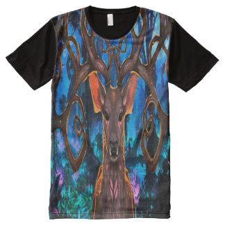 BIG MAGIC DEER AKA groot magie hert All-Over Print T-Shirt